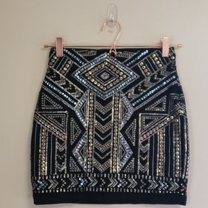 Express mini skirt size xs